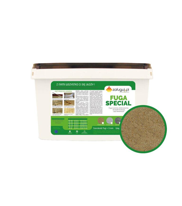 fuga zywiczna epoksydowa do kostki brukowej granitowej fugmix optimal special piaskowy zolty