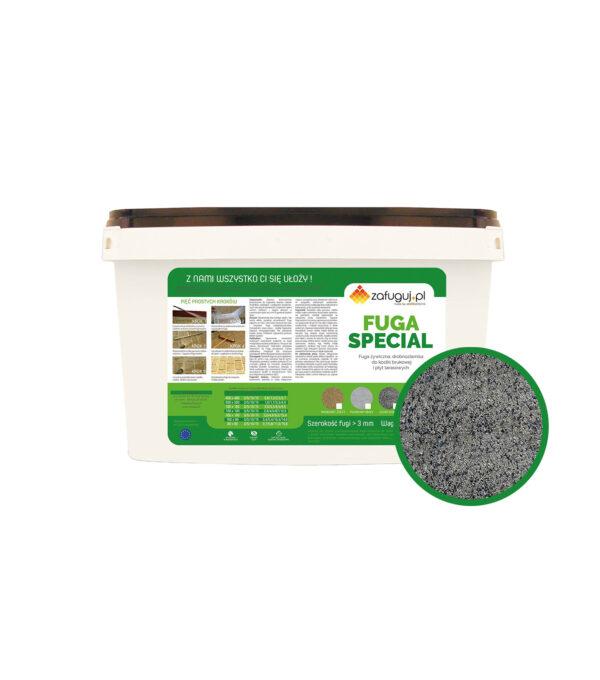 fuga zywiczna epoksydowa do kostki brukowej granitowej fugmix optimal special szary kamien